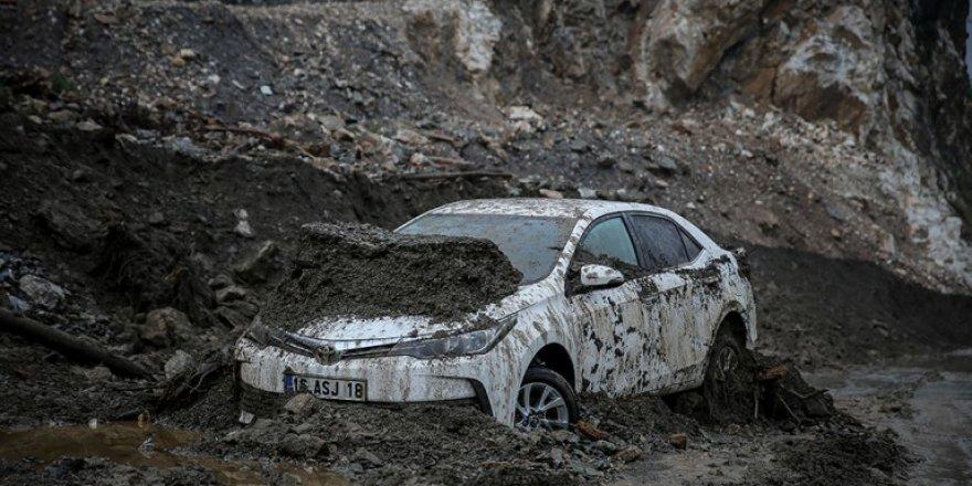 Bursa'daki sel felaketinin boyutu gün ağarınca ortaya çıktı