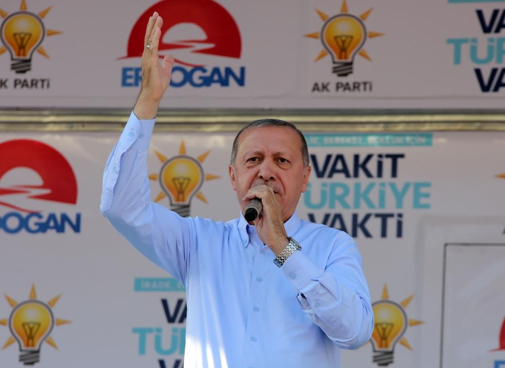 Cumhurbaşkanı Recep Tayyip Erdoğan'ın Bursa mitingi 1