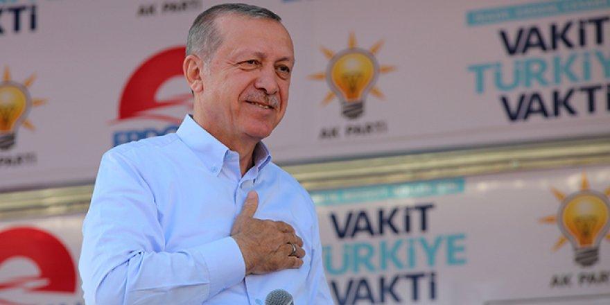 Cumhurbaşkanı Recep Tayyip Erdoğan'ın Bursa mitingi