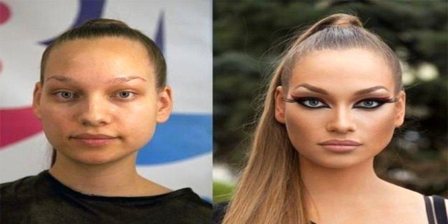Güzellikte bir adım öne çıkan Rus kadınlarının makyajsız halleri