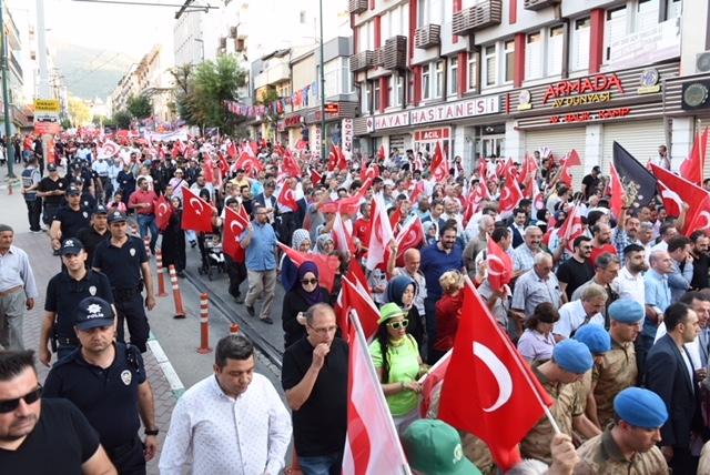 Bursa'da 15 Temmuz 1