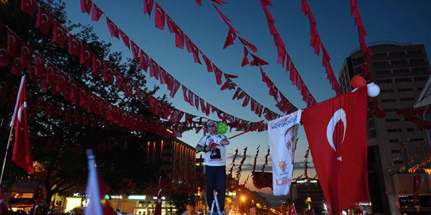 Bursa'da 15 Temmuz