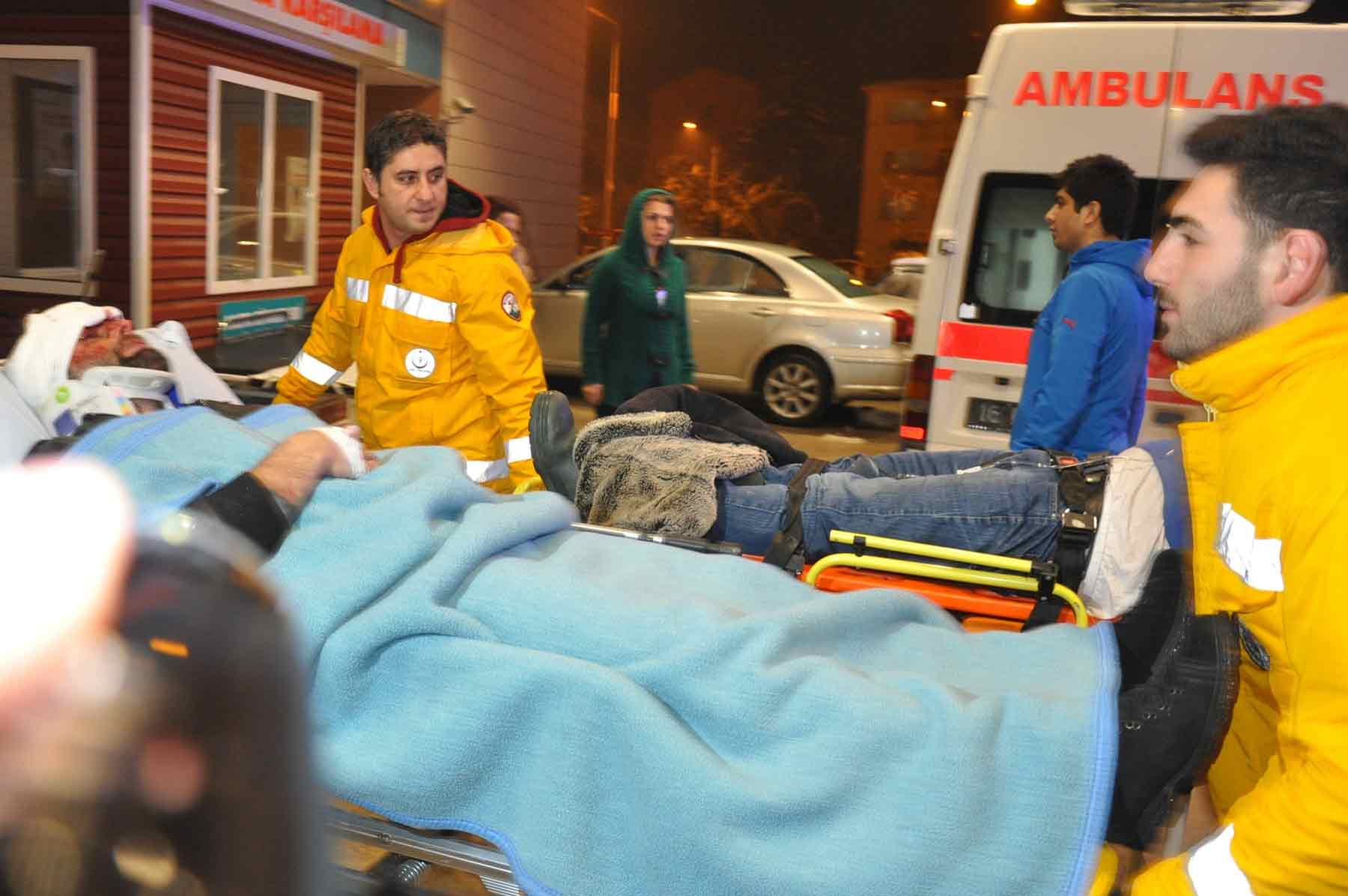 Bursa'da buzlanma kaza getirdi 11