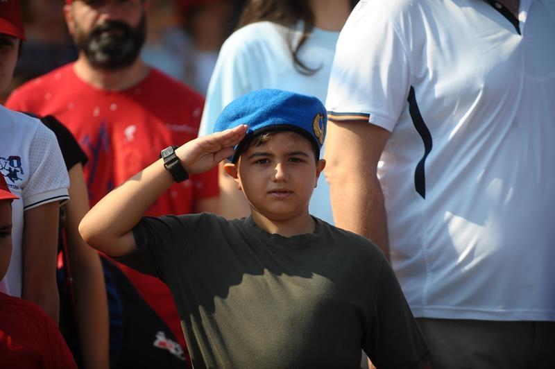 Bursa'da 30 Ağustos Zafer Bayramı coşkusu 16