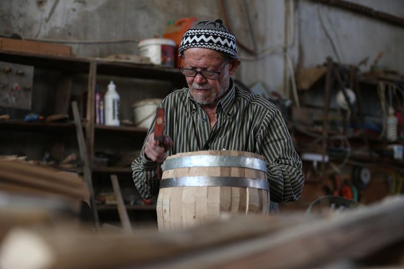 Türkiye'nin 72 yıllık fıçıcısı 1