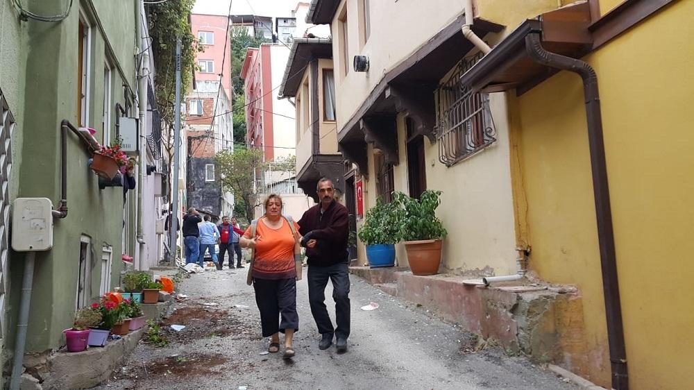 Bursa'da patlama sonrası yangın! 1