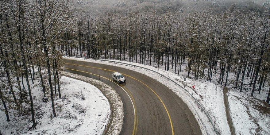 Uludağ'dan kar manzaraları...