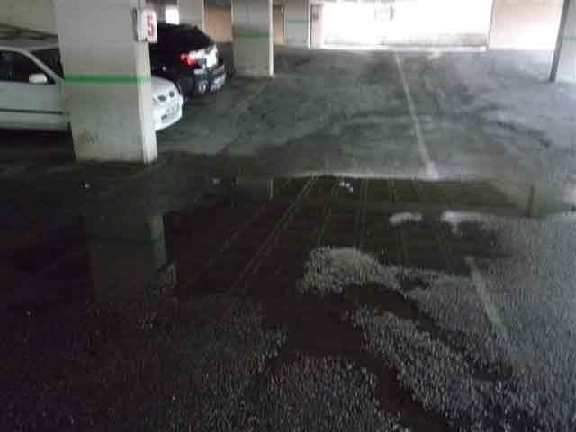 Bursaspor Otoparkı'nın hali içler acısı 6