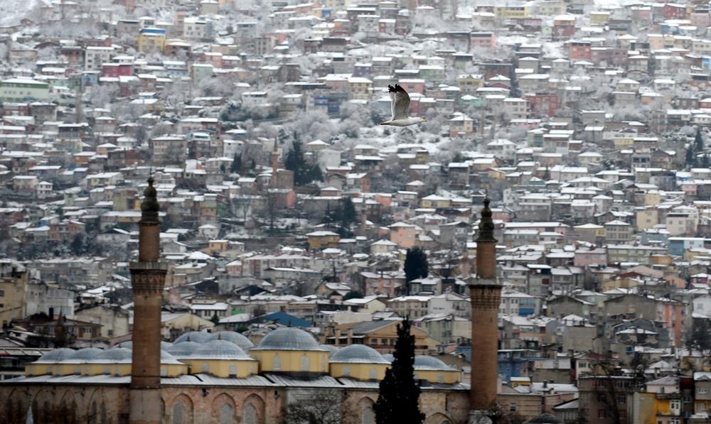 Kartpostallık görüntüler! Bursa havadan böyle görüntülendi 1