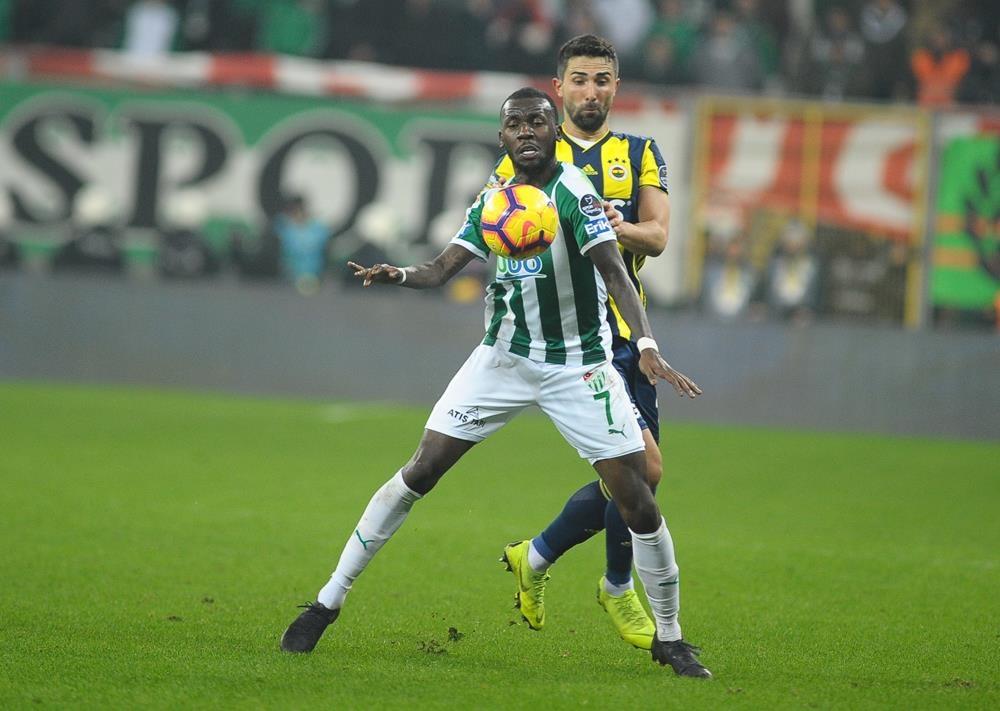 Bursaspor 1-1 Fenerbahçe 1