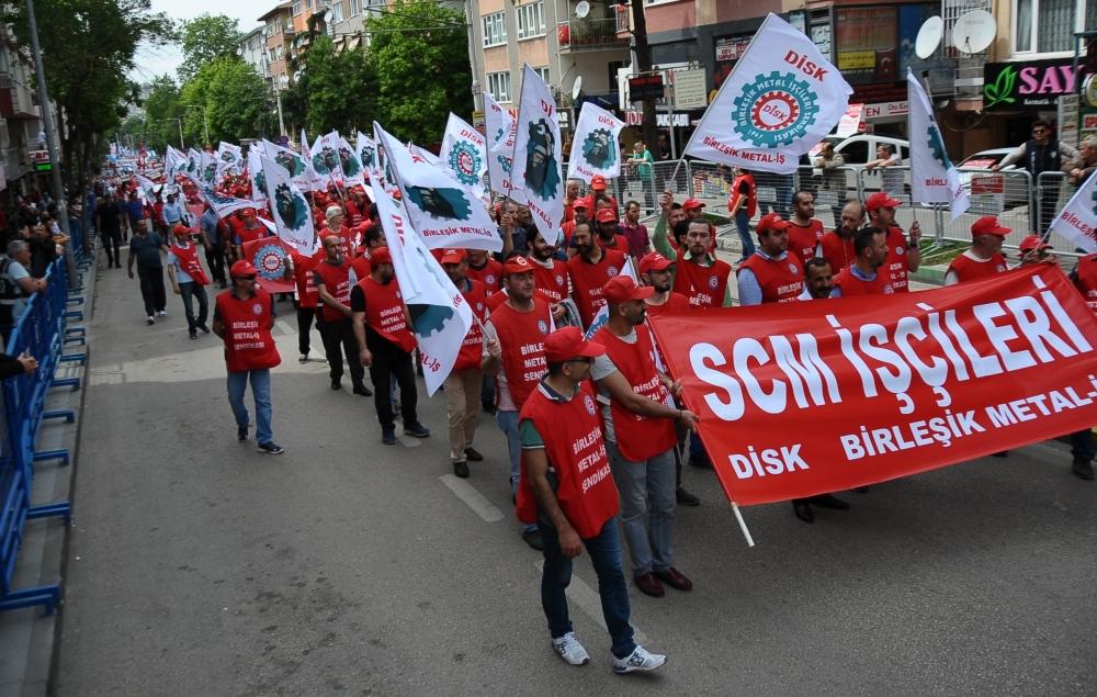 Bursa'da 1 Mayıs coşkusu 1