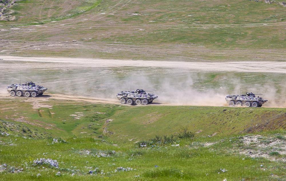Türkiye ve Azerbaycan'dan savaş sahnelerini aratmayan tatbikat 1