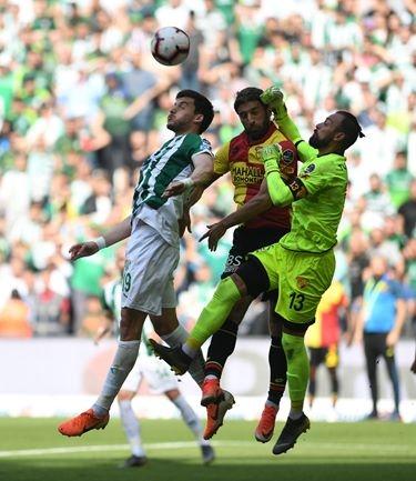 Bursaspor 0-0 Göztepe 1
