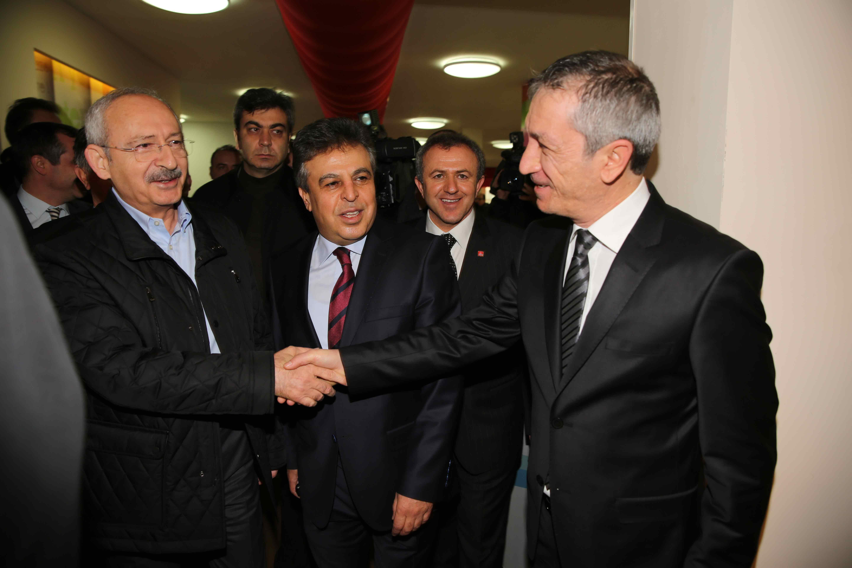 Kılıçdaroğlu Olay Medya'yı ziyaret etti 12