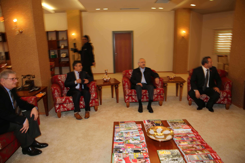 Kılıçdaroğlu Olay Medya'yı ziyaret etti 17