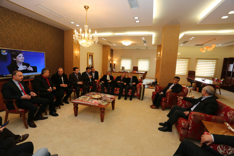 Kılıçdaroğlu Olay Medya'yı ziyaret etti 21