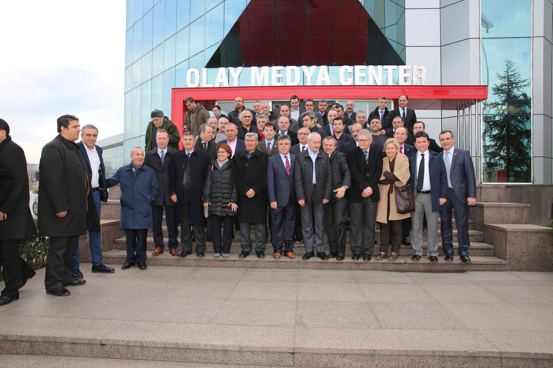Kılıçdaroğlu Olay Medya'yı ziyaret etti 26