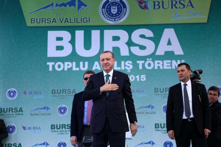 Cumhurbaşkanı, Bursa'da 27