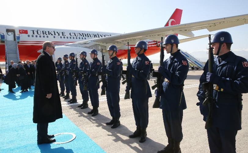 Cumhurbaşkanı, Bursa'da 6