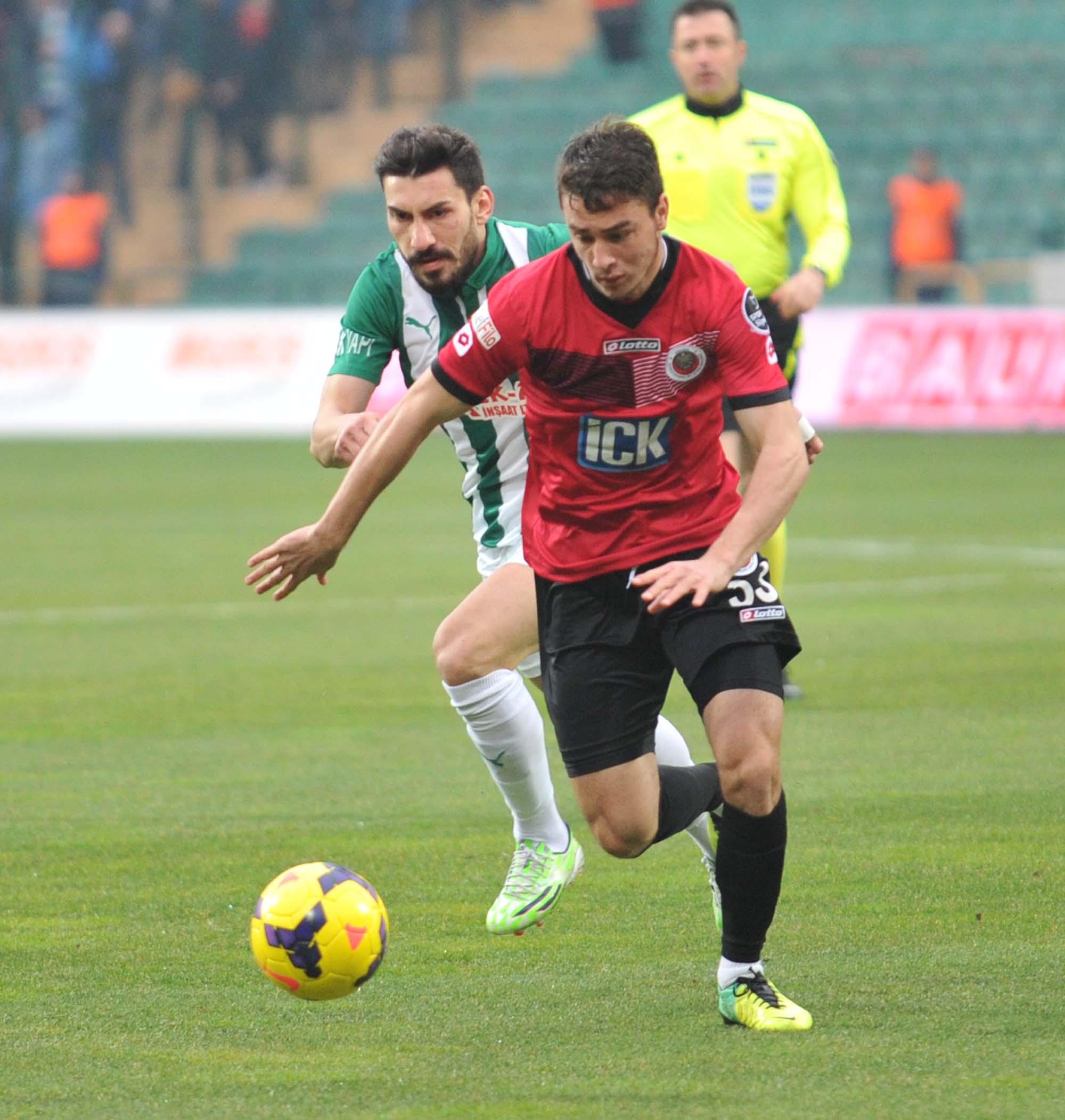 Bursaspor - Gençlerbirliği 2