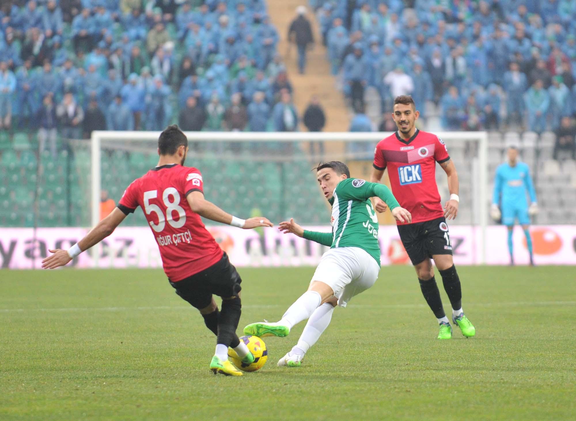 Bursaspor - Gençlerbirliği 4