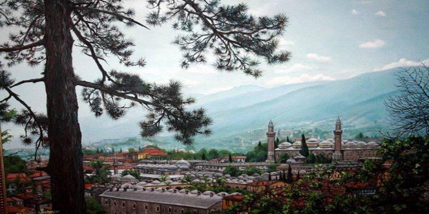 Birbirinden güzel Bursa tabloları görücüye çıktı