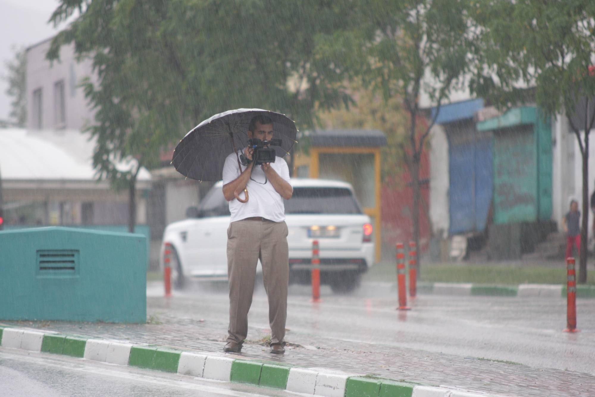 Bursa`da yağmur hayatı olumsuz etkiledi 4