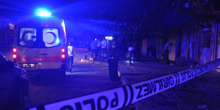Bursa`da `gürültü` kavgası: 2 ölü, 1 yaralı