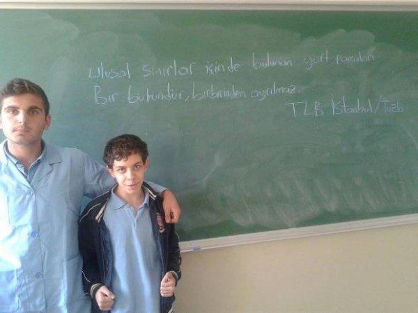 Liseliler Nutuk`un 87`nci yılını kutladı 7