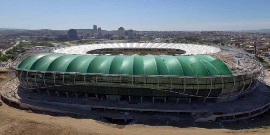 İşte Timsah Arena'nın havadan son hali