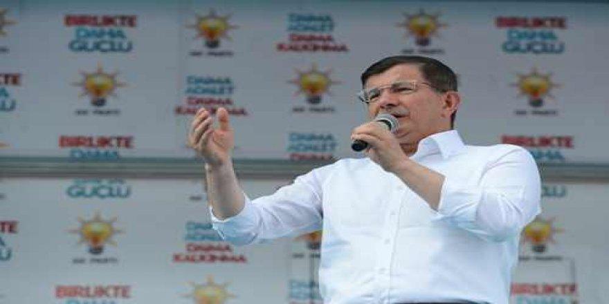 Başbakan Davutoğlu'nun Bursa mitingi