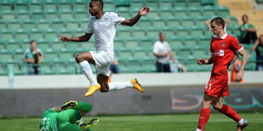 Bursaspor - Gaziantepspor: 2-0