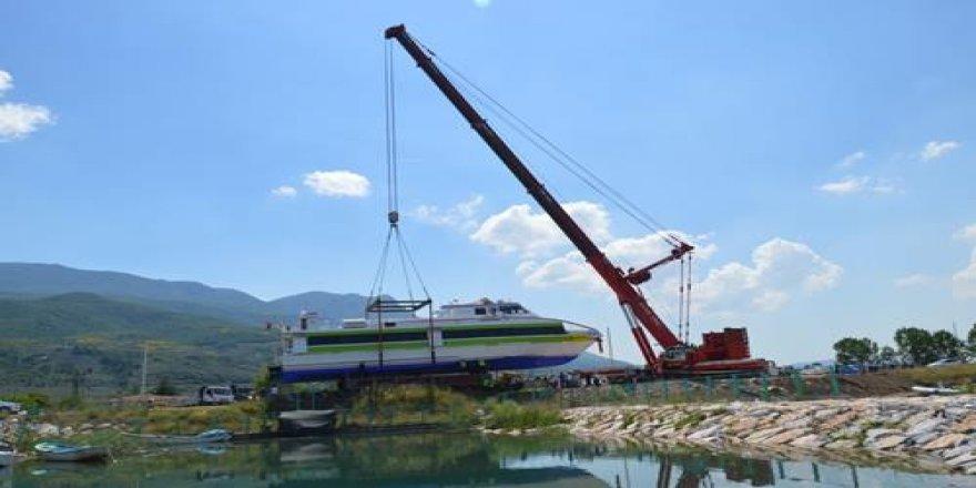 Akşemseddin, İznik Gölü'nde!