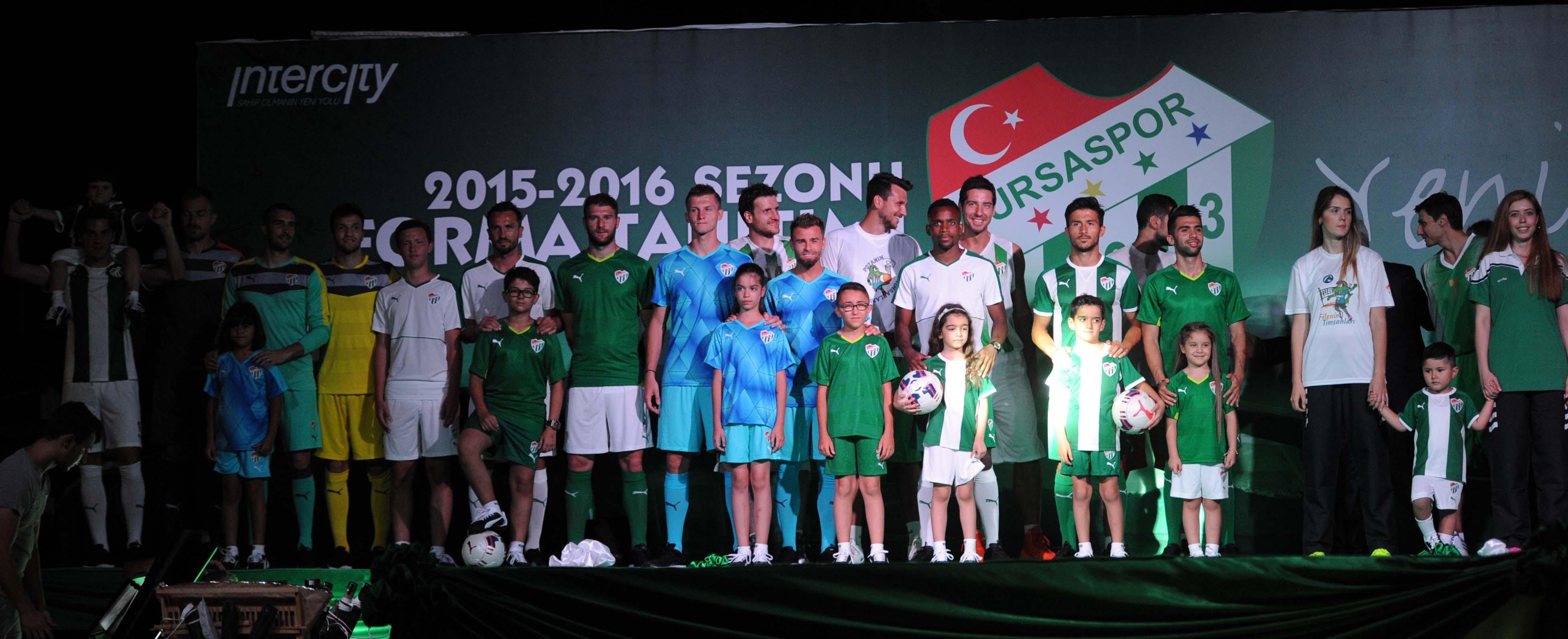 İşte Bursaspor'un yeni sezon formaları 1