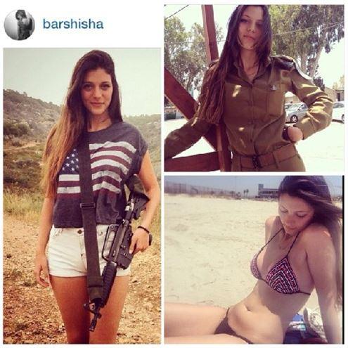 İsrailli kadın askerler 12