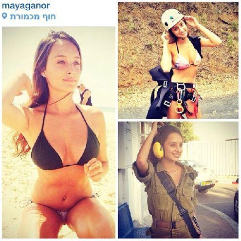 İsrailli kadın askerler 23