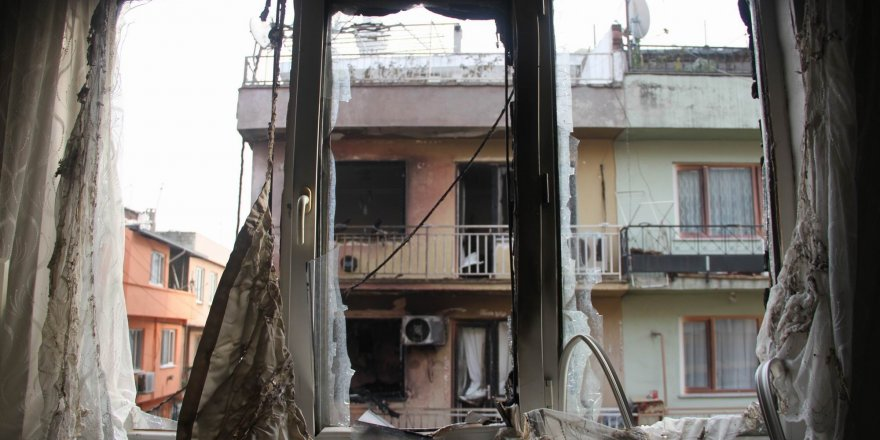 Patlamanın yaşandığı mahalle savaş alanına döndü