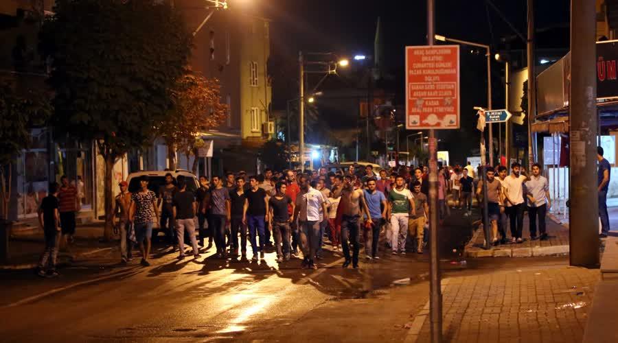 Bursa'da tehlikeli gerginlik! 1