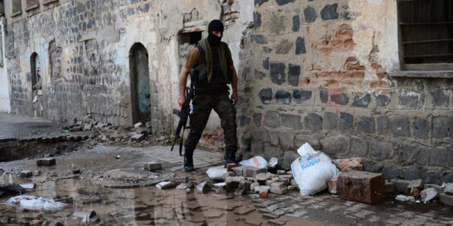 Diyarbakır'daki terör örgütüne yönelik operasyon