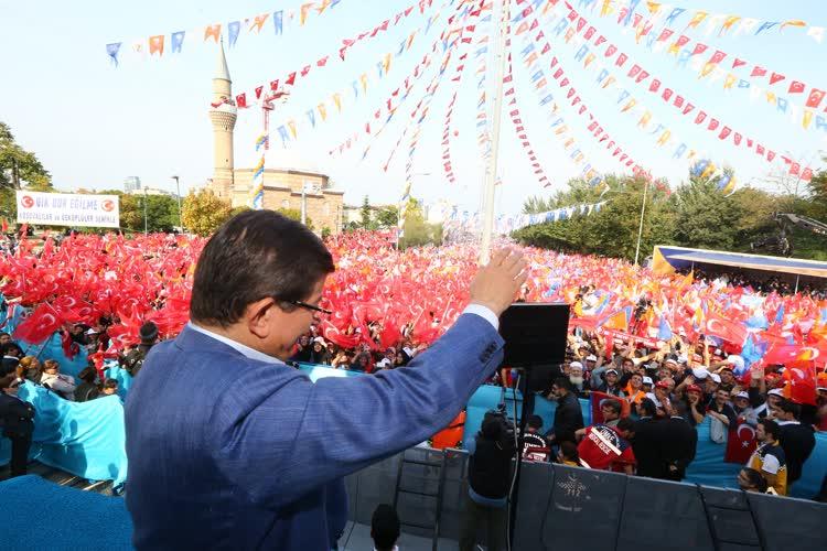 Başbakan Ahmet Davutoğlu, Bursa'da 1