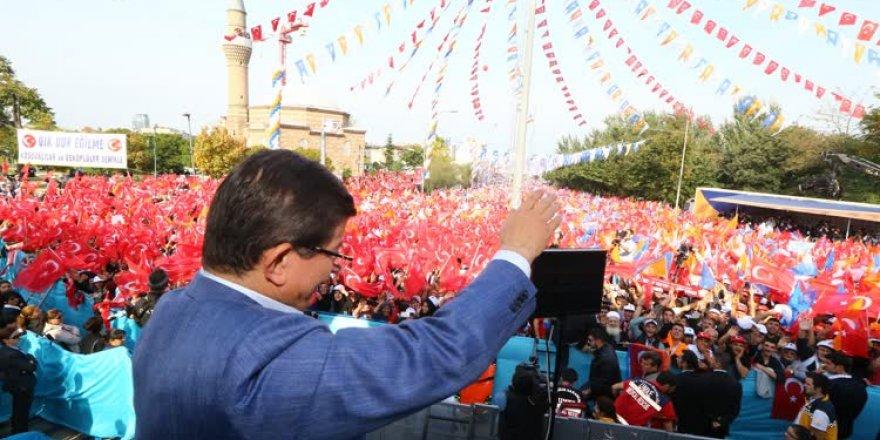 Başbakan Ahmet Davutoğlu, Bursa'da