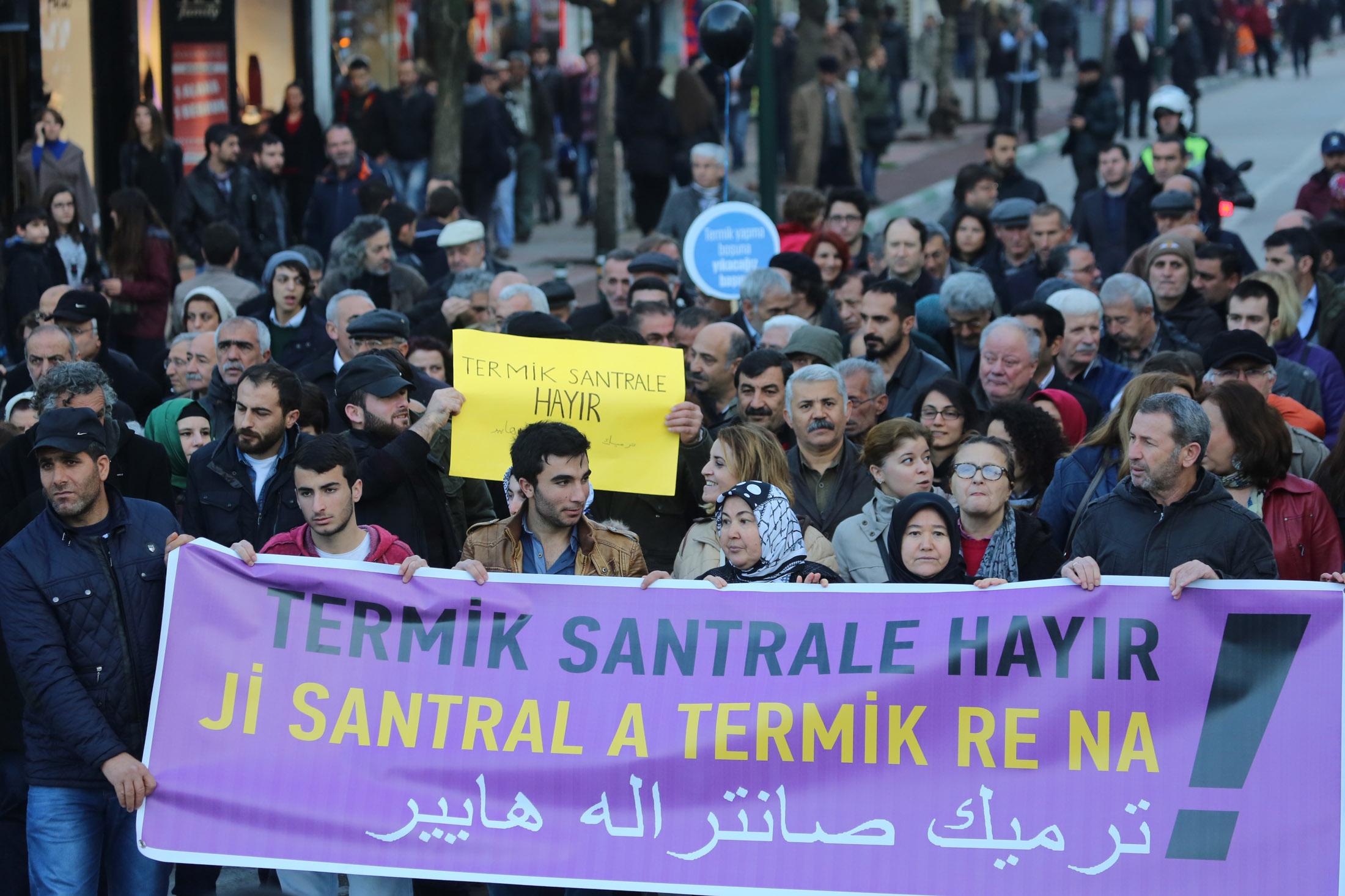 Bursa'da tarihi eylem 19