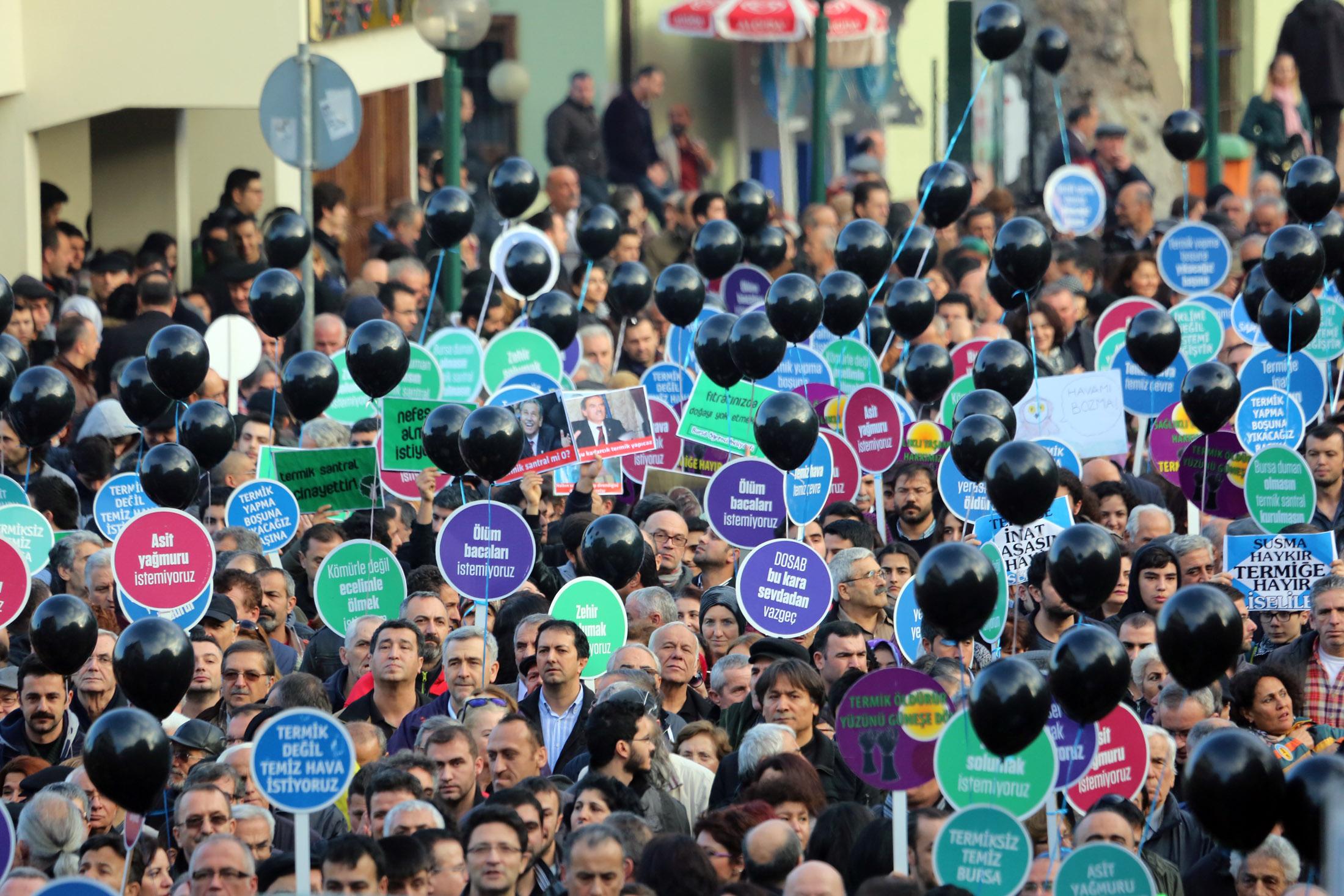 Bursa'da tarihi eylem 4