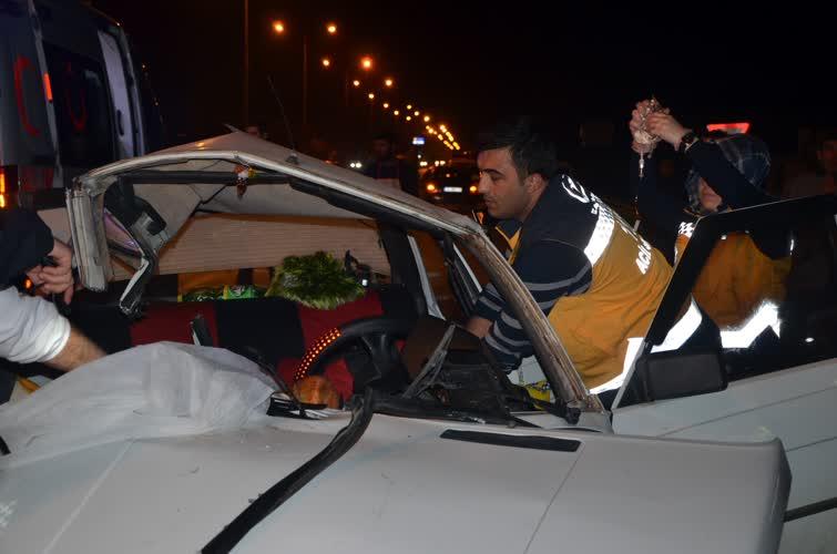 Bursa'daki feci kazada can pazarı: 1 ölü, 5 yaralı 1