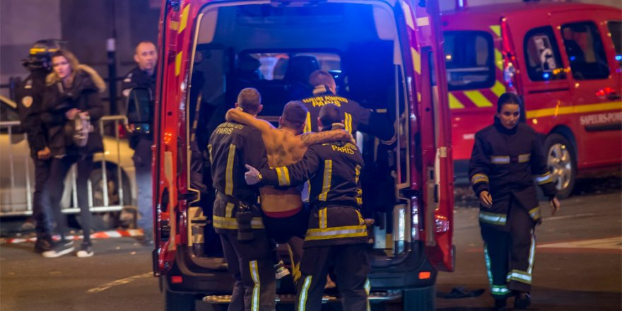 Paris'te terör saldırısı