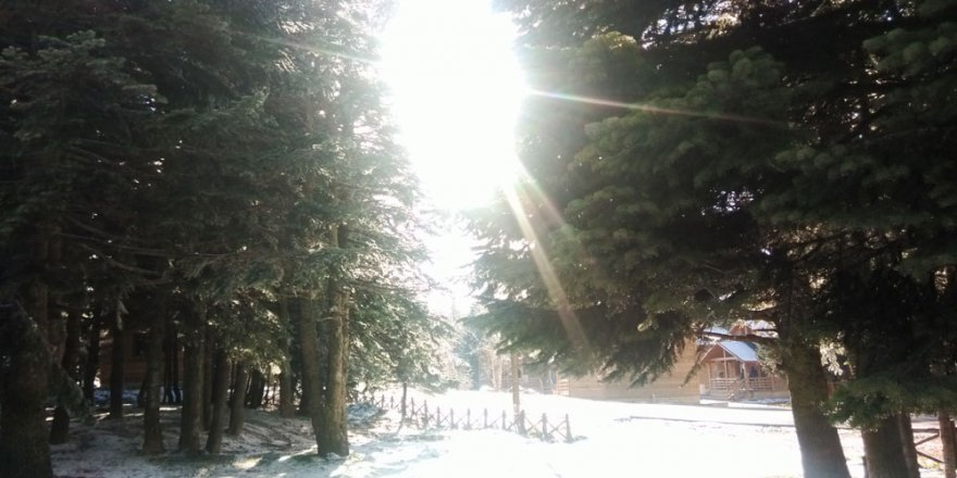Kışa girerken Uludağ