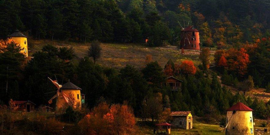 Bursa'da sonbahar güzelliği...