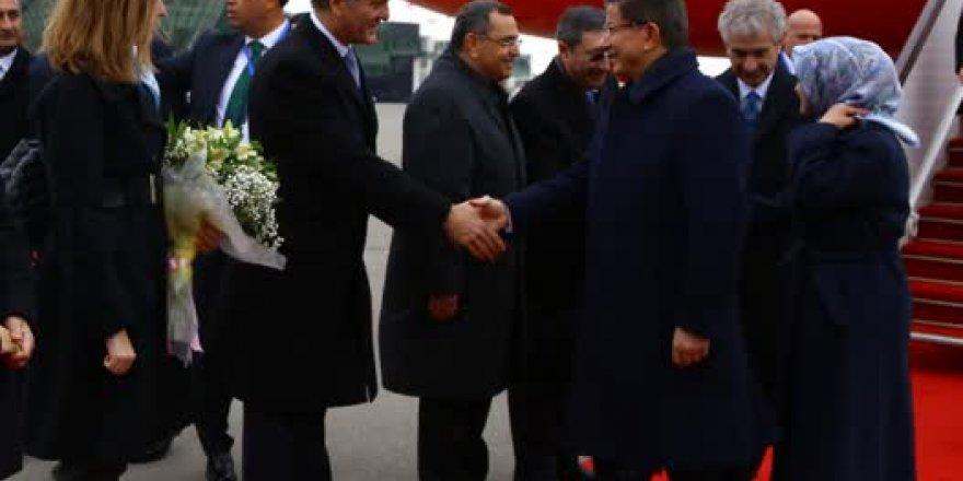 Başbakan Davutoğlu Azerbaycan'da