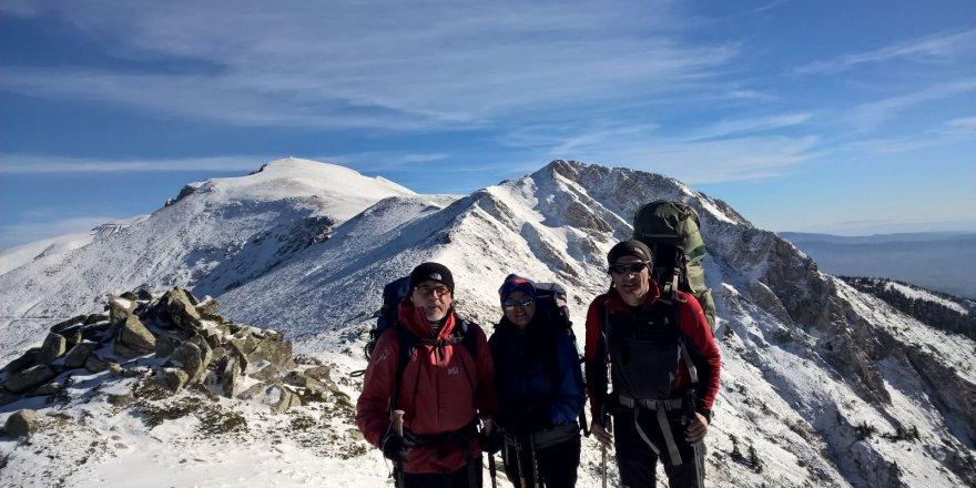 2 bin 500 metreden Uludağ manzaraları
