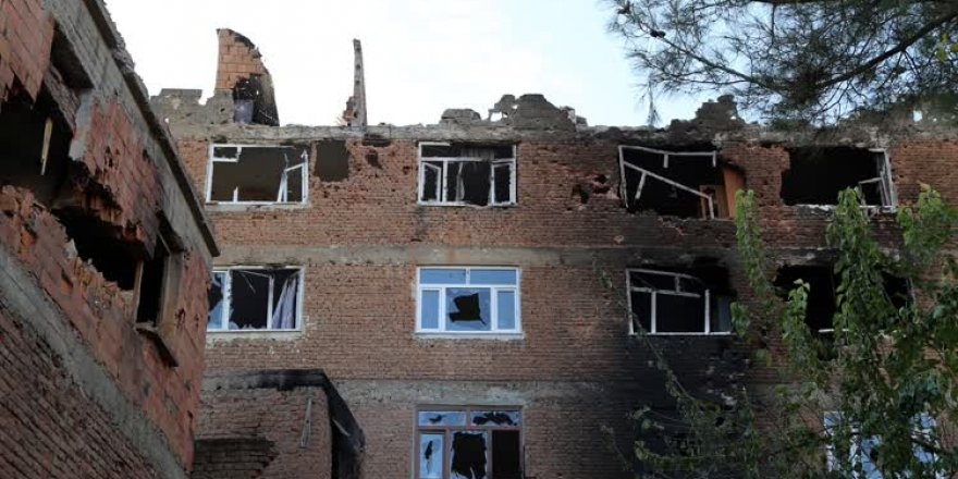 Tarihi camideki tahribat ortaya çıktı
